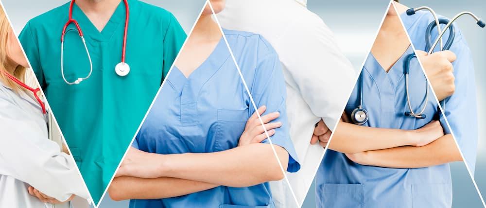 複数の看護師