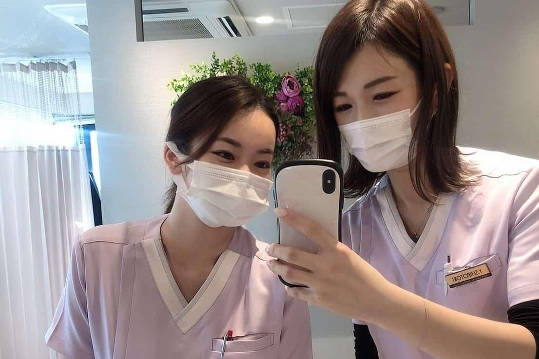 美容クリニックの看護師
