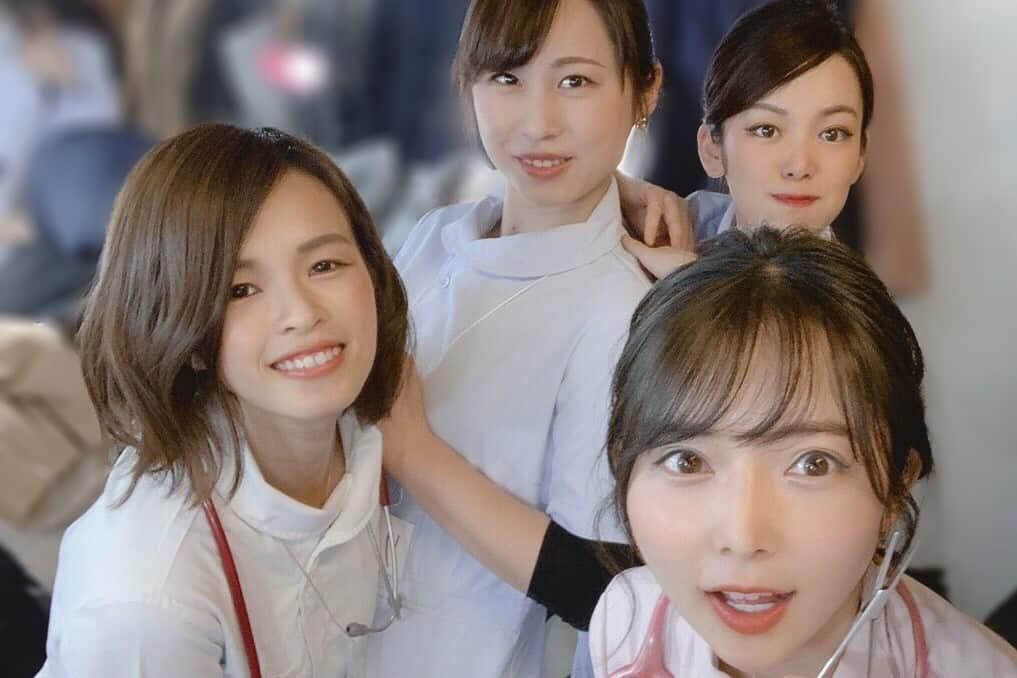 美人看護師図鑑の4人の看護師